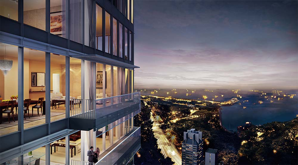 wallich residence super penthouse panoramic view